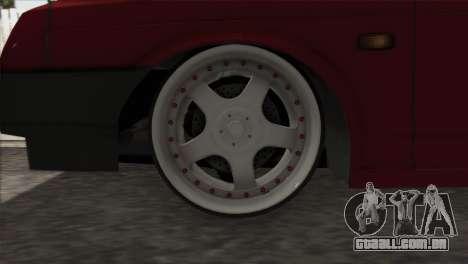 VAZ 2108 DropMode para GTA San Andreas vista interior