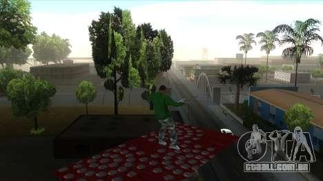 Cleo Mod San Andreas para GTA San Andreas quinto tela