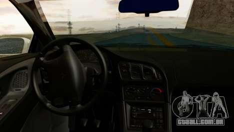 Mitsubishi Eclipse GST 1995 para GTA San Andreas vista direita