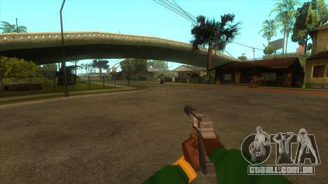 A primeira pessoa v3.0 para GTA San Andreas nono tela