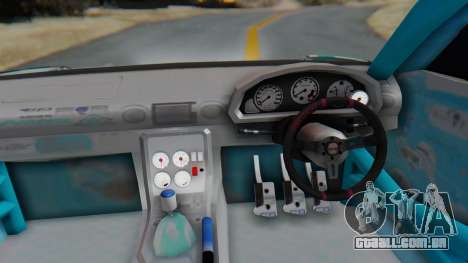 Nissan Silvia s15 Itasha [EDE-Crew] para GTA San Andreas vista traseira