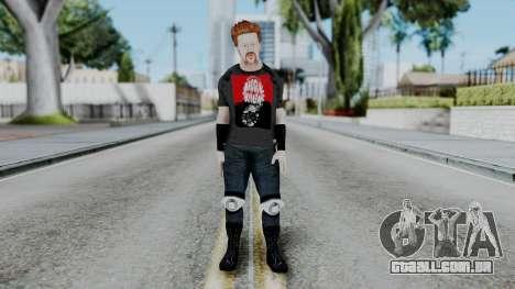 Sheamus Casual para GTA San Andreas segunda tela