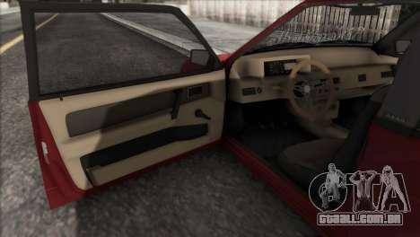 VAZ 2108 DropMode para vista lateral GTA San Andreas