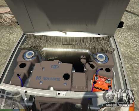 GTA 5 VAZ 2115 traseira direita vista lateral