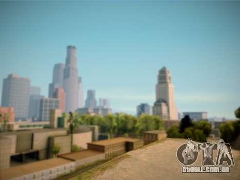 ENB GreenStyle V7.1 para GTA San Andreas por diante tela