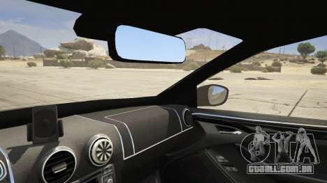 GTA 5 2014 Police Skoda Octavia VRS Hatchback traseira direita vista lateral