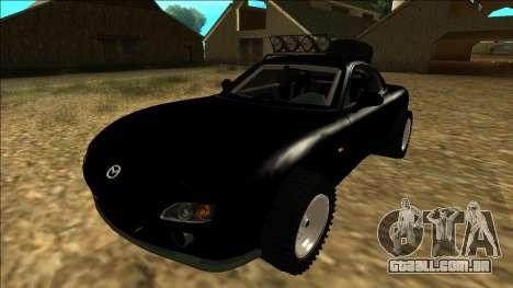 Mazda RX-7 Rusty Rebel para GTA San Andreas