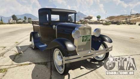 Ford A Pick-up 1930 para GTA 5