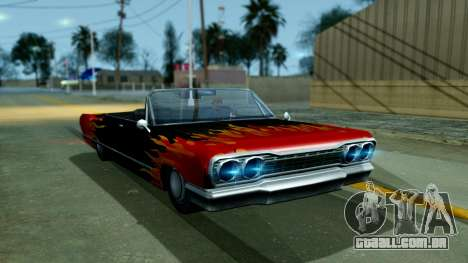 Savanna New PJ para GTA San Andreas