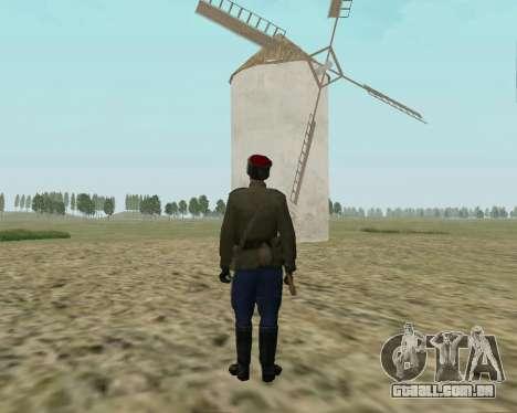 A coleção de Soldados do exército vermelho para GTA San Andreas terceira tela