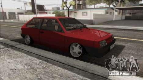 VAZ 2108 DropMode para GTA San Andreas vista direita