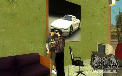 O renascimento da concessionária de carros Ottos para GTA San Andreas quinto tela