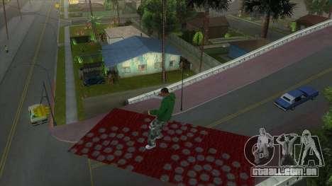 Cleo Mod San Andreas para GTA San Andreas por diante tela