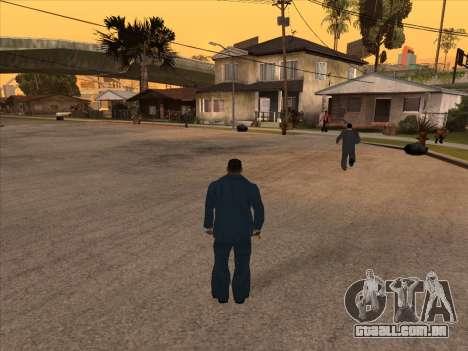Máfia russa em Ganton para GTA San Andreas segunda tela