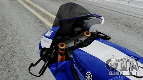 Yamaha YZR-M1 VR46 para GTA San Andreas vista direita