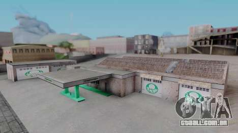 New Garage in San Fierro para GTA San Andreas
