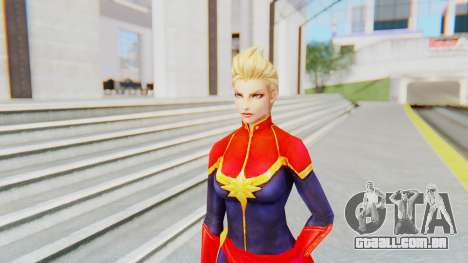 Marvel Future Fight - Captain Marvel para GTA San Andreas