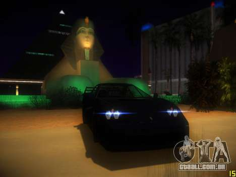 A seguir ENB V1.0 por meio do PC para GTA San Andreas segunda tela