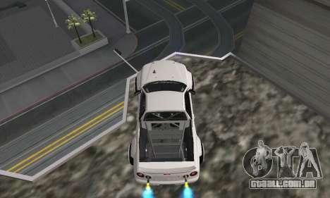 Nissan Skyline R34 Pickup para GTA San Andreas traseira esquerda vista