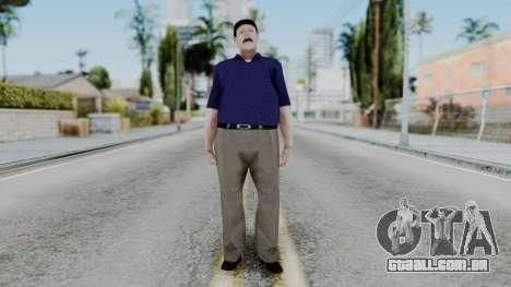 Atendedor de Boludos para GTA San Andreas segunda tela