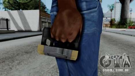 CoD Black Ops 2 - Galvaknuckles para GTA San Andreas terceira tela