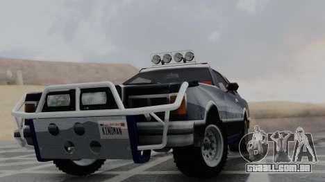 Virgo v1.0 para GTA San Andreas traseira esquerda vista