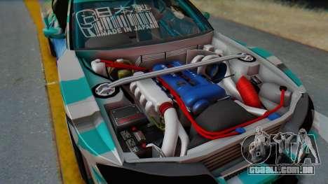 Nissan Silvia s15 Itasha [EDE-Crew] para GTA San Andreas vista direita