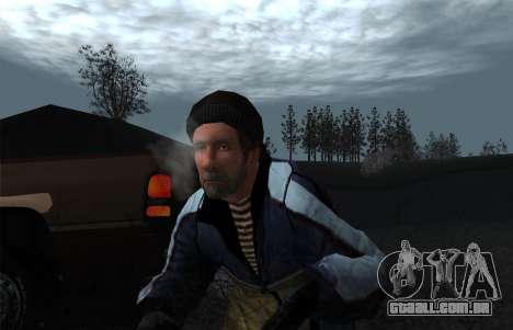 O vapor da boca para GTA San Andreas segunda tela