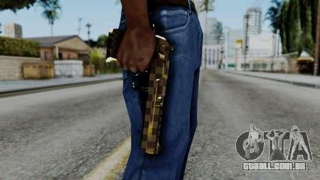 Deagle Louis Vuitton Version para GTA San Andreas terceira tela