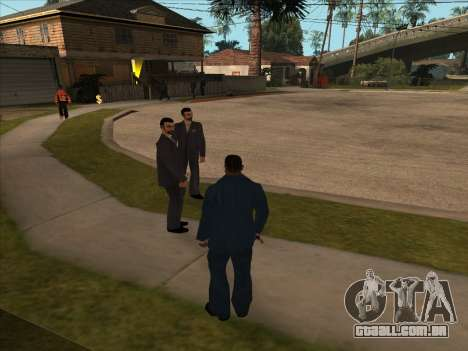 Máfia russa em Ganton para GTA San Andreas terceira tela