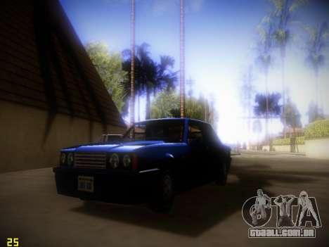 A seguir ENB V1.4 para baixo PC para GTA San Andreas segunda tela