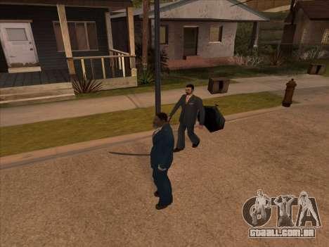 Máfia russa em Ganton para GTA San Andreas quinto tela