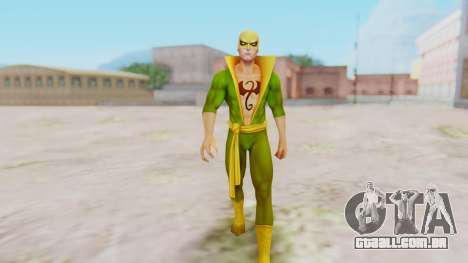 Marvel Future Fight - Iron Fist para GTA San Andreas segunda tela