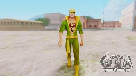 Marvel Future Fight - Iron Fist para GTA San Andreas segunda tela