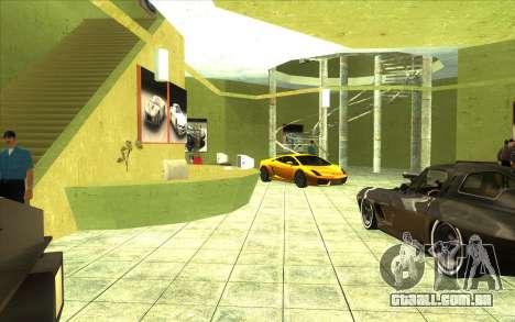 O renascimento da concessionária de carros Ottos para GTA San Andreas terceira tela