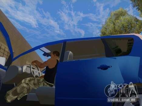 Nissan Note v1.0 Final para GTA San Andreas vista traseira