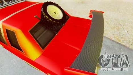 Virgo v2.0 para GTA San Andreas traseira esquerda vista
