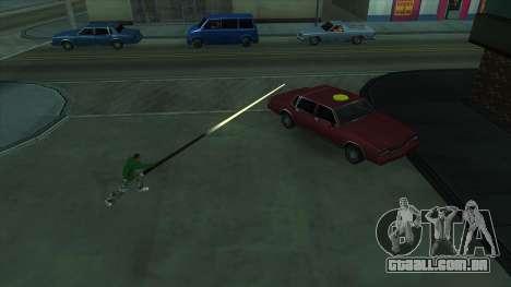 Cleo Mod San Andreas para GTA San Andreas segunda tela