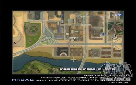 Visita De Wu Zi Mu para GTA San Andreas quinto tela