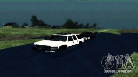 Chevrolet Suburban Offroad Final Version para GTA San Andreas vista direita