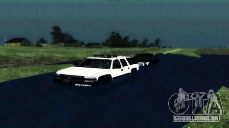 Chevrolet Suburban Offroad Final Version para GTA San Andreas vista direita