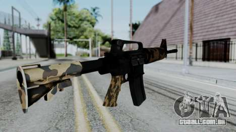 M16 A2 Carbine M727 v2 para GTA San Andreas segunda tela