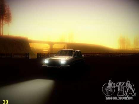 A seguir ENB V1.4 para baixo PC para GTA San Andreas terceira tela