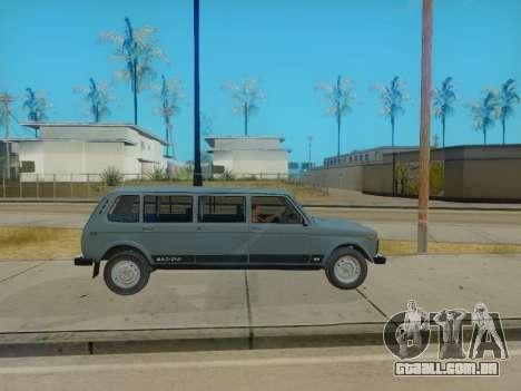 ВАЗ 2131 7-porta [HQ Versão] para GTA San Andreas vista direita