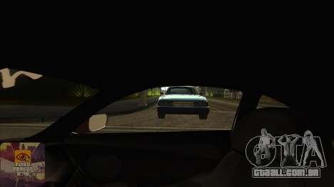 A primeira pessoa v3.0 para GTA San Andreas sexta tela