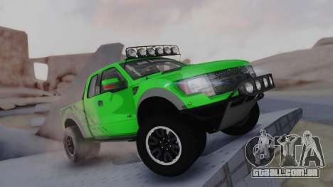 Ford F-150 SVT Raptor 2012 para GTA San Andreas