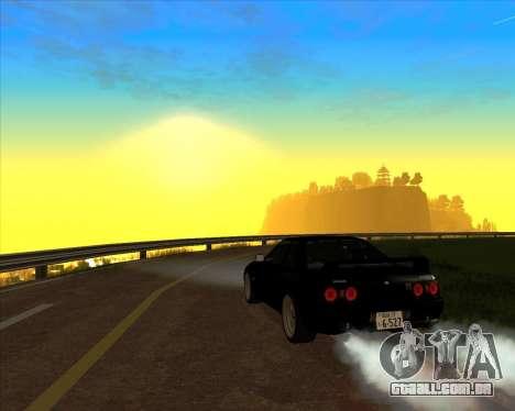 Nissan Skyline GT-R BNR32 Initial D Legend 2 N.K para GTA San Andreas vista interior
