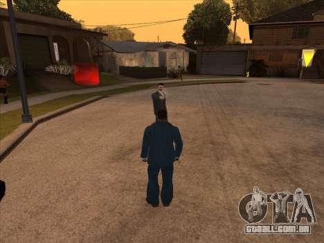 Máfia russa em Ganton para GTA San Andreas por diante tela
