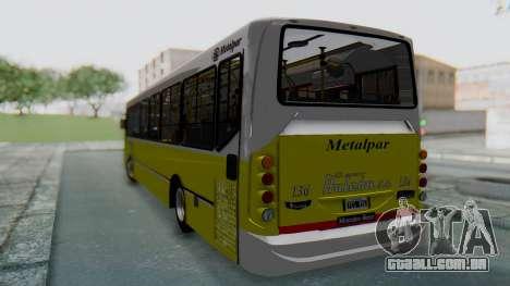 Mercedes-Benz 1718L-SB Linea 148 para GTA San Andreas traseira esquerda vista