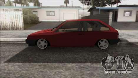 VAZ 2108 DropMode para GTA San Andreas esquerda vista